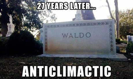 27 Years Later? Anticlimactic (Find Waldo --- Found)