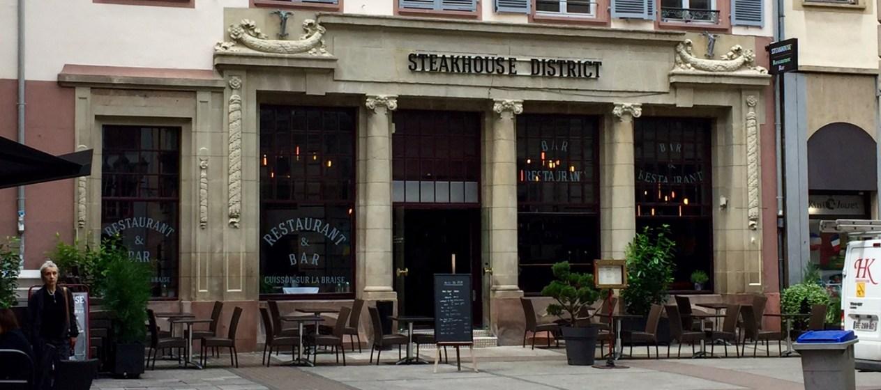 Steakhouse District restaurant Strasbourg viande cuisson braise 1