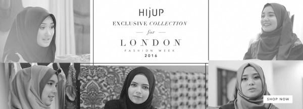 London Fashion Week 2016 Hijuo Hijab Fashion Online