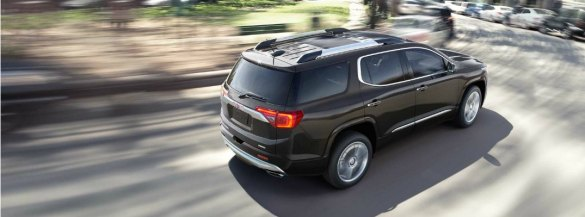 2017 GMC SUV Lineup  Power  Cargo Volume and Seating Capacity     2017 GMC Acadia Waukesha WI