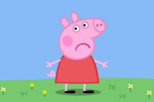 PEPPA PIG TRISTE