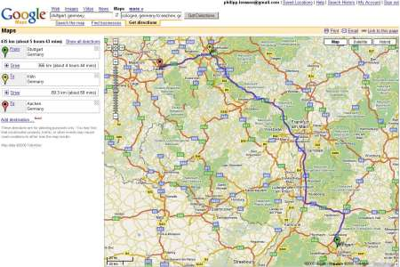 mapquest driving directions 20024985 google maps multiple driving directions large
