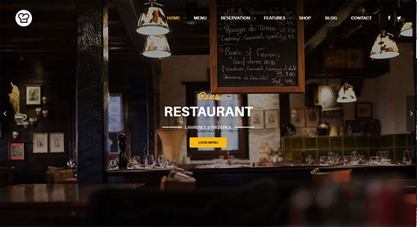 resca-theme-wordpress-creation-site-vitrine-internet-restaurant-cafe-tarif-prix