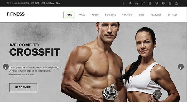 theme-wordpress-creer-site-internet-vitrine-club-fitness-prix-tarif