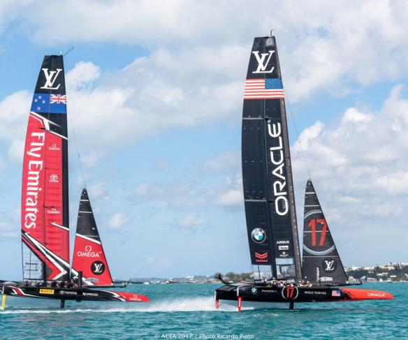Louis Vuitton America's Cup Qualifiers Race Day 1