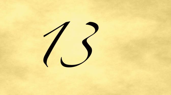 Number 13 – July 2, 2016