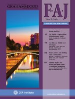Financial Analysts Journal, March/April 2015