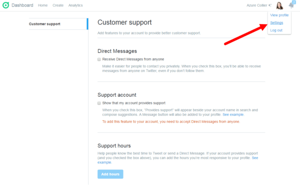 twitter-customer-support-dashboard