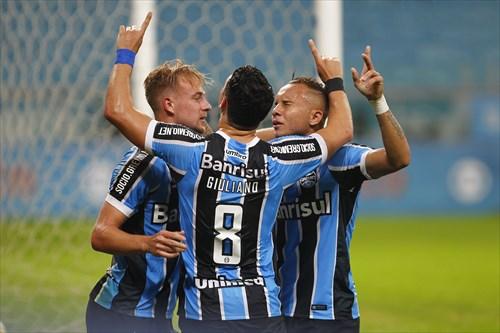 Líder ao fim da quarta rodada, o Grêmio não é campeão desde 1996. Foto: Divulgação/Grêmio