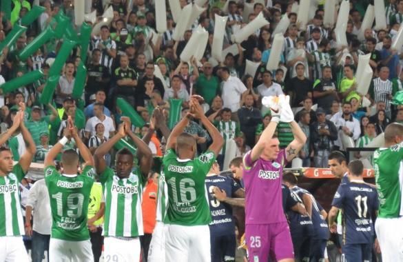 Campeão em 1989, Atlético Nacional é um dos três semifinalistas. Foto: Site/Atlético Nacional