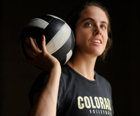 Former CU volleyball player Alex Buth has been named the new head coach at Mullen. (Karl Gehring, The Denver Post)