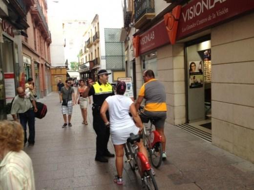 policia ciclistas
