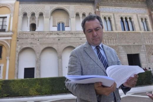 En los Reales Alcázares. Espadas mantiene una reunión con los organizadores del congreso ASTA agencias de viajes de EEUU