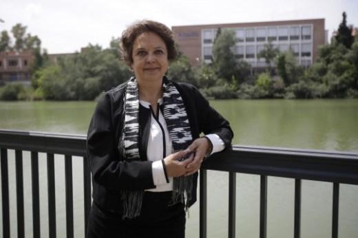 Carmen Castreño, presidenta del Puerto de Sevilla..