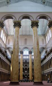 The National Building Museum. Photo courtesy of Wikimedia user AgnosticPreachersKid under the Creative Commons License