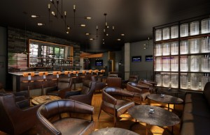 An artist's rendering of the movie theater's lobby. Photo courtesy of The JBG Cos.