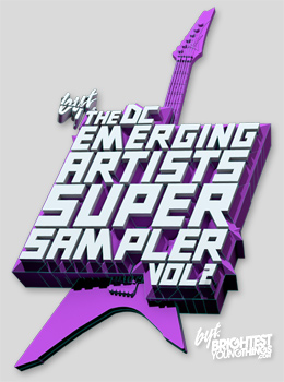 DC Super Sampler promo poster. Photo courtesy of Brightest Young Things.