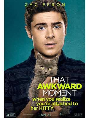 Promo poster for That Awkward Moment. Photo Used Under the Creative Commons License.