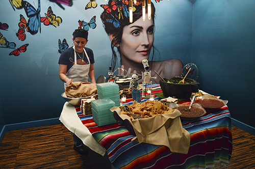 You can celebrate Day of the Dead with live music and authentic Mexixan cuisine at Oyamel Cocina Mexicana starting Oct. 19. Emma Hillman | Hatchet Photographer