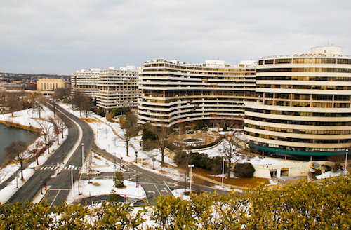 The Watergate Hotel is set to reopen June 1 after a $125 million interior renovation. Hatchet file photo.