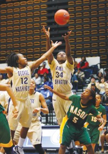 women's basketball, Danni Jackson, George Mason University, Battle of the Orange Line