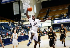 Forward Isaiah Armwood will have another tough physical matchup against Georgia Friday. Hatchet File Photo