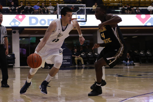 Junior forward Yuta Watanabe scored a team-high 19 points in GW's 86-80 exhibition win Saturday. The Colonials officially open the season Friday when they play host to Marlyand Eastern Shore. Ethan Stoller | Hatchet Photographer