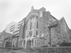 Miriam's Kitchen is in the basement of Western Presbyterian Church. Hatchet file photo.