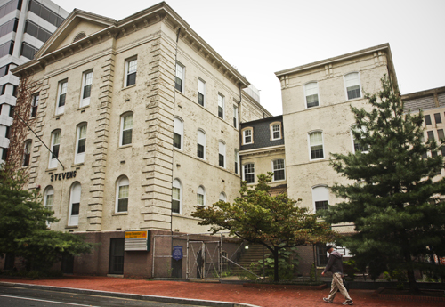 Local developers who are renovating the Thaddeus Stevens school recently bought the Human Society of the United States headquarters to develop into a high end officer building. Hatchet File Photo