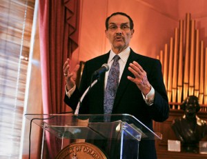 D.C. Mayor Vincent Gray. Hatchet File Photo