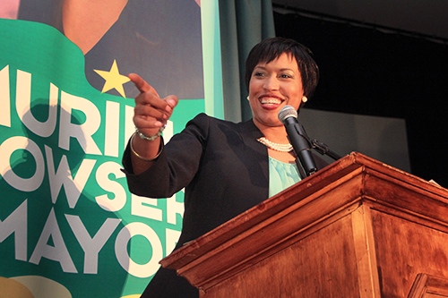 Muriel Bowser won the city's Democratic primary with 44 percent of the vote. Jamie Finkelstein | Hatchet Staff Photographer