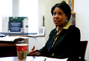 Terri Harris Reid, the University's vice provost for diversity and inclusion, was hired in 2011. Hatchet File Photo