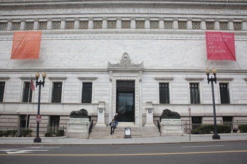 GW will pay for renovations to the Corcoran's 17th Street building as part of the merger. | Hatchet file photo.