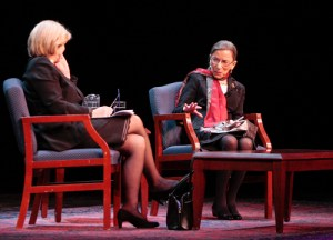 Supreme Court Justice Ruth Bader Ginsburg will speak in Lisner Auditorium Sept. 12 for a Constitution Day event. Hatchet file photo.