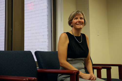 Laurie Koehler, the vice provost for enrollment management and retention, said GW's new test-optional policy helped to create the most diverse freshman class in University history. Hatchet file photo by Dan Rich   Photo Editor.