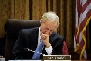 "Ward 2 Council member Jack Evans was one of the two legislators to vote ""no"" on the proposed paid leave bill Tuesday. Charlie Lee 