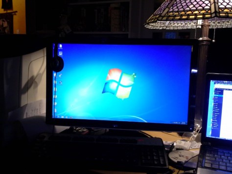 Windows 7, getting ready for upgrade to Windows 10.