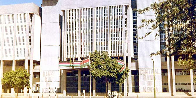 Central Bank of Kenya  Photo Credit: *SHERWOOD* via Flickr (http://bit.ly/1WEyMOG)  CC-BY-SA-2.0