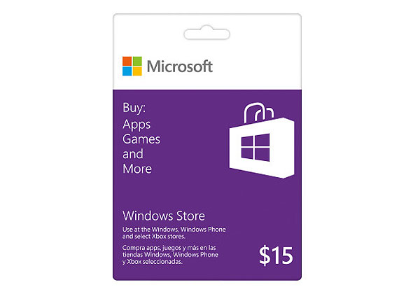 The perfect stocking stuffer for every tech lover on your list! Use this app gift card to download your favorite apps and games. Watch your favorite teams and stay up to date on your favorite shows from your Windows PC or tablet.