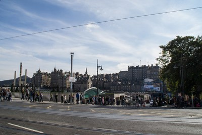 Princes Street, Edinburgh shops