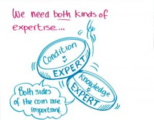 """We need both kinds of expertise..."""