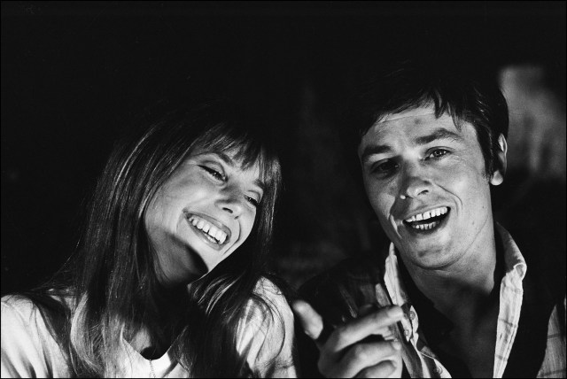 La piscine: The girl and the seductor (Jane Birkin, Alain Delon)