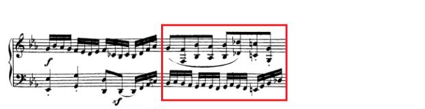 Beethoven op. 111 - 1. Satz - Takt 40