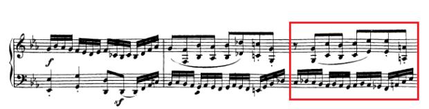 Beethoven op. 111 - 1. Satz - Takt 41