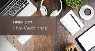 OpenText Live Webinar Series