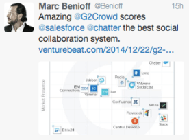 Image of tweet from Marc Benioff
