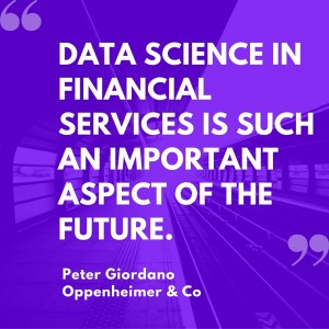 data science in financial services is such an important aspect of the future.