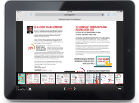HITS SNAPSHOT – GEARING UP FOR 2015 10 Trends Impacting Healthcare in 2015