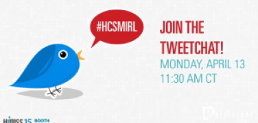 Join the TweetChat on Monday, April 13 at 11:30 AM CT
