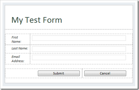 how to use a form confirmation page